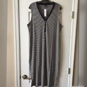 J. Crew Dresses - J. Crew Stripped Midi Dress